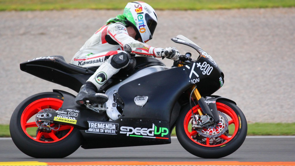 Alessandro Nocco, Speed Up, Test Valencia Moto2