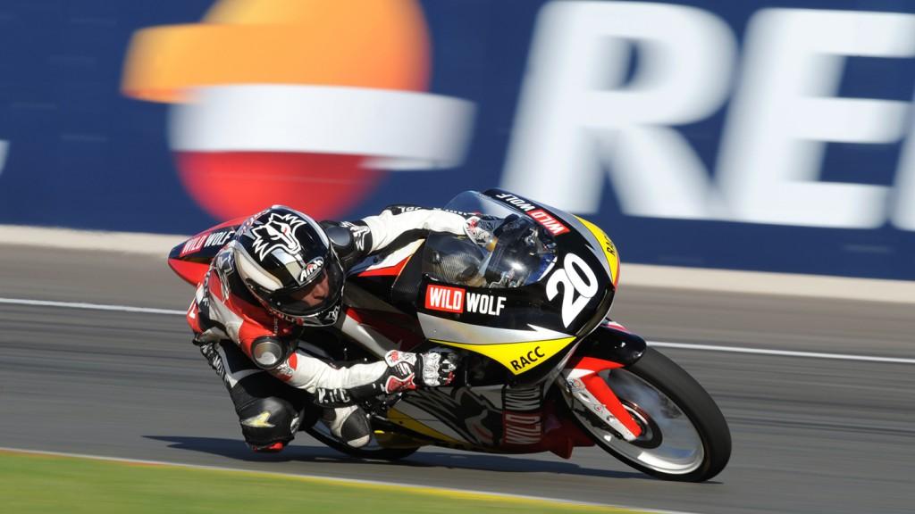 Fabio Quartararo, Wild Wolf Racing, CEV Repsol, Moto3 Valencia RAC
