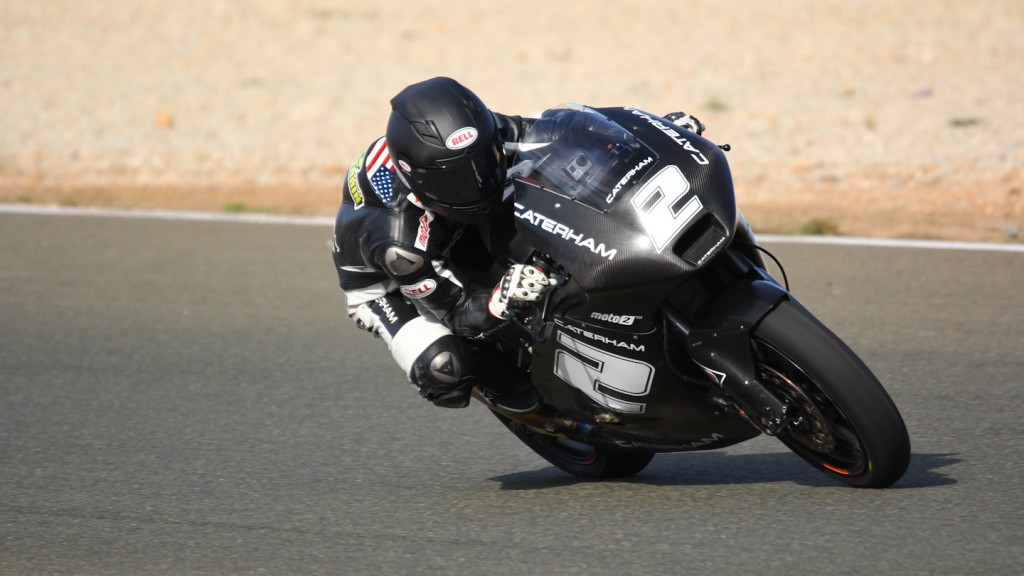Josh Herrin, Caterham Moto Racing Team, Almería Test