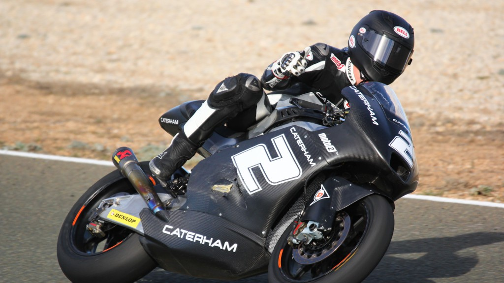 Josh Herrin, Caterham Moto Racing Team, Almería Test