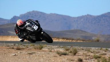 Johann Zarco, Caterham Moto Racing Team, Almería Test