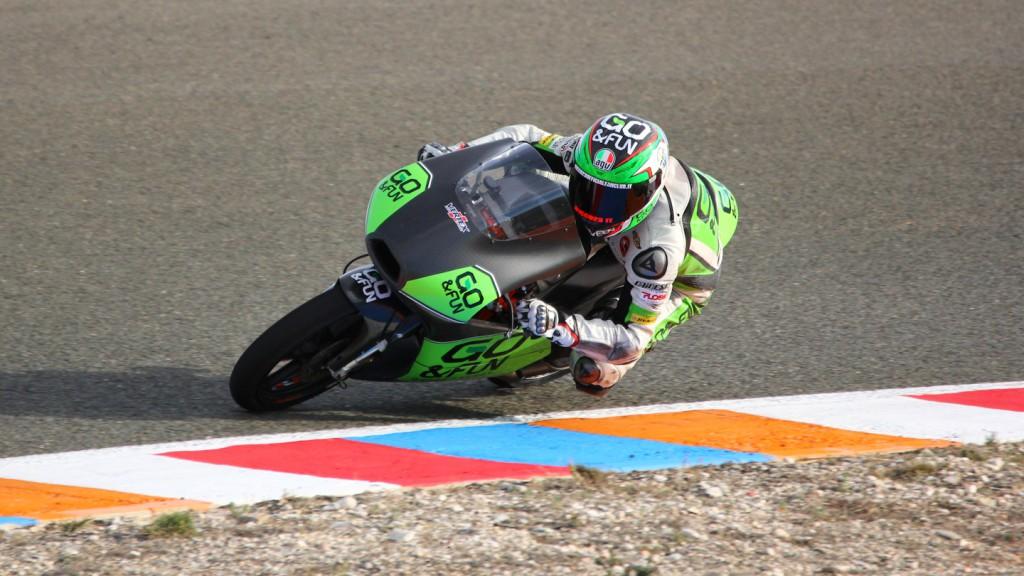 Antonelli Niccolò, GO&FUN Gresini Moto3, Almería Test