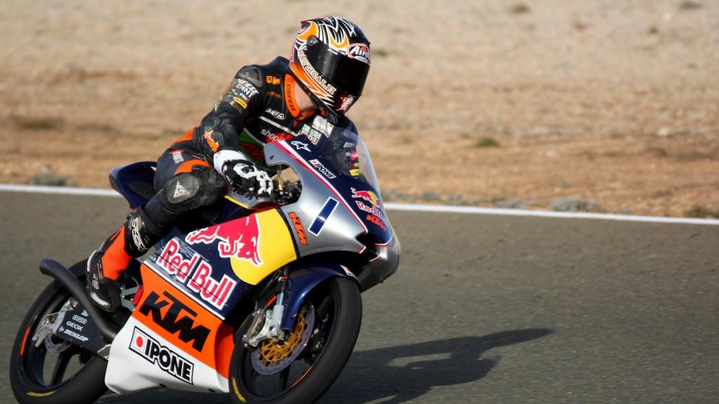 Niklas Ajo, Red Bull KTM Ajo, Almería Test
