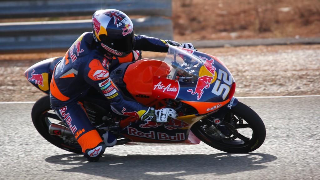 Danny Kent, Red Bull KTM Ajo, Almería Test