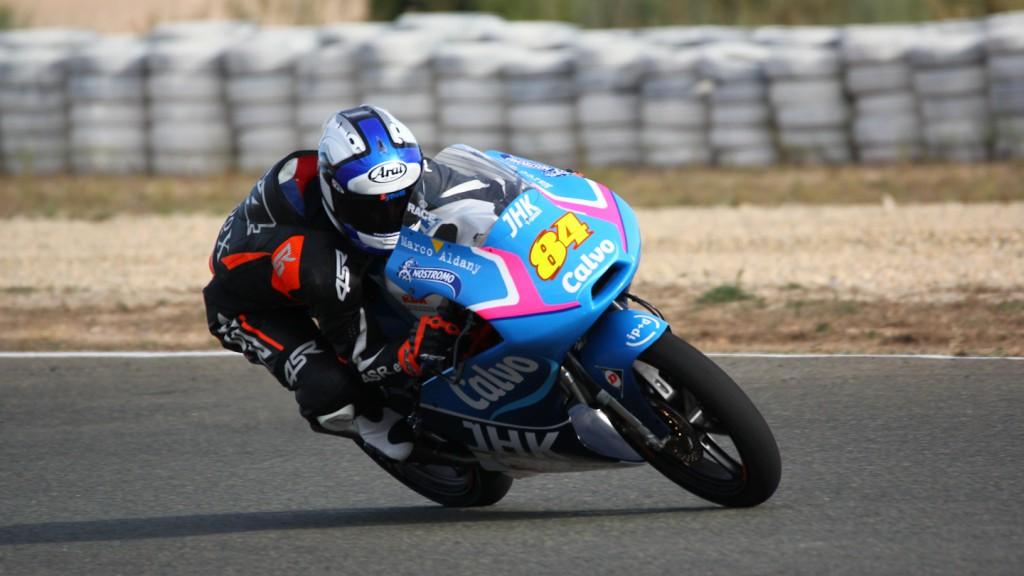 Jakub Kornfeil, Team Calvo, Almería Test