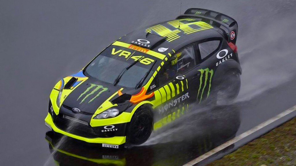 Valentino Rossi, Monza Rally testing