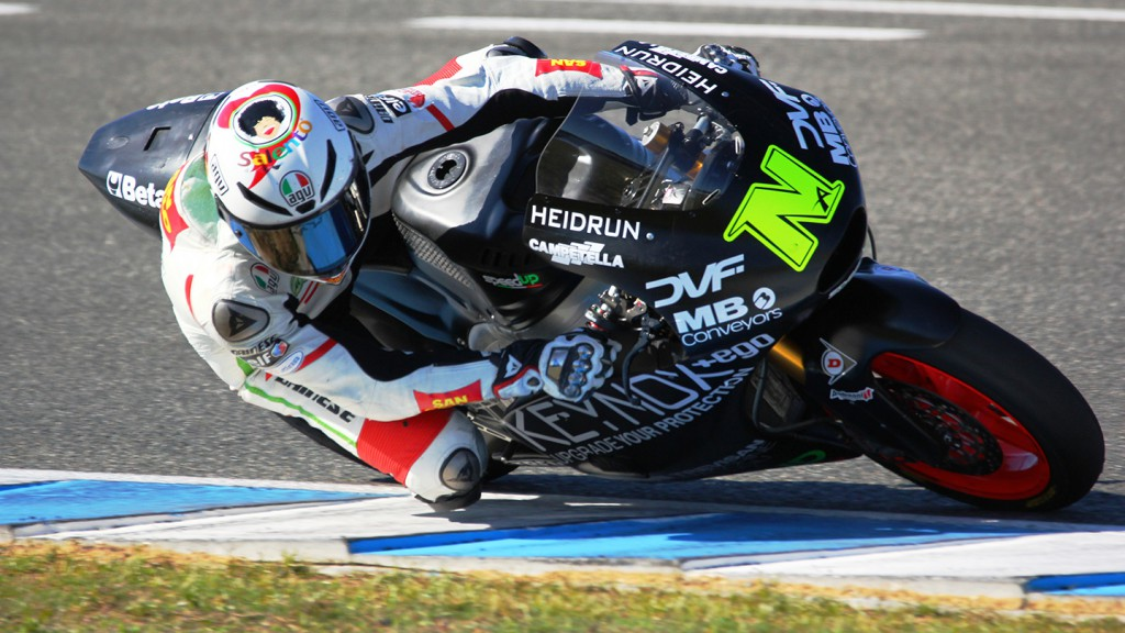 Alessandro Nocco, Speed Up - Jerez Moto2™ Test