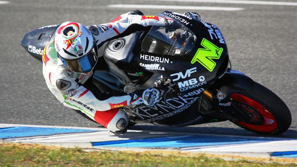 Alessandro Nocco, Speed Up - Jerez Moto2™ Test