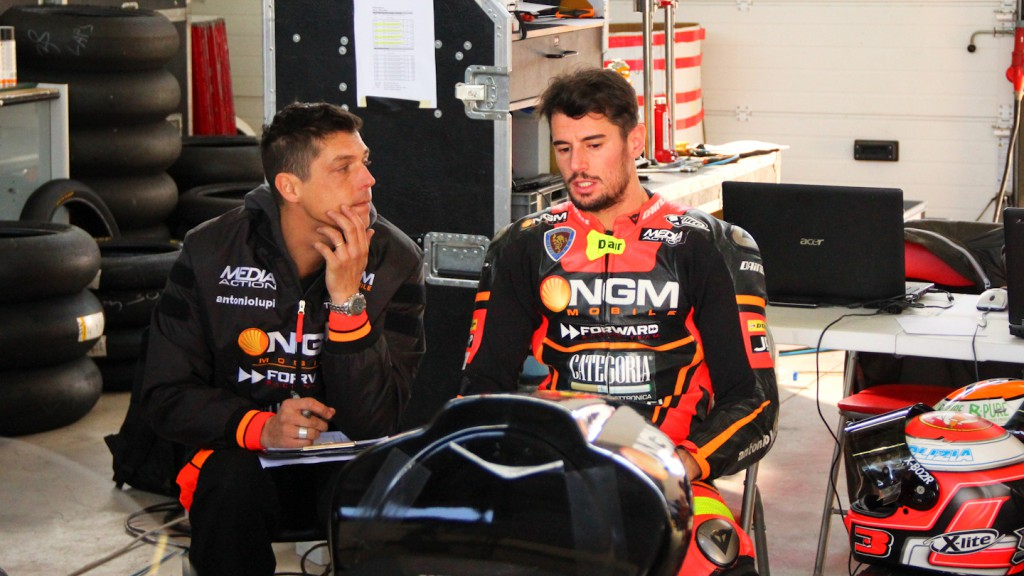 Simone Corsi, NGM Mobile Forward Racing