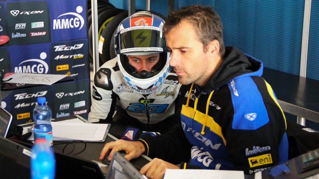 Marcel Schrotter, Tech 3, Almería Test
