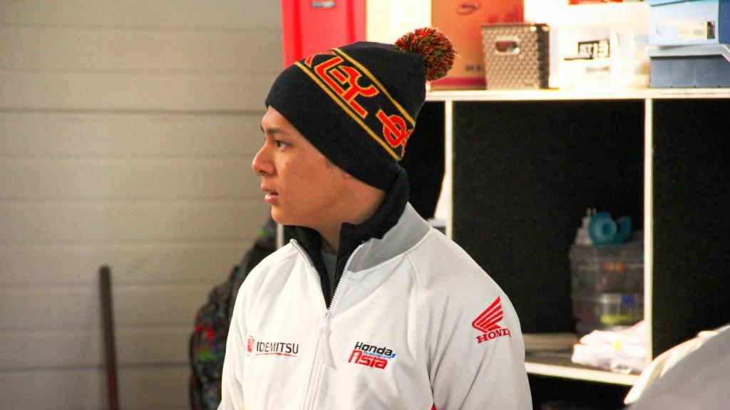 Takaaki Nakagami, IDEMITSU Hona Team Asia, Almería Test