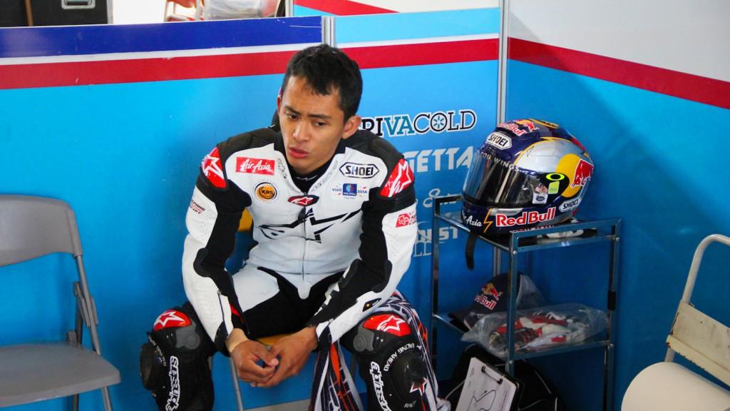 Zulfahmi Khairuddin, Ongetta-AirAsia, Almería Test