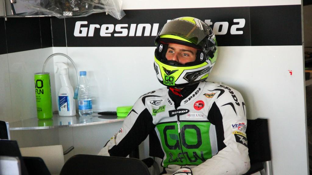 Lorenzo Baldassarri, Gresini Moto2, Almería Test