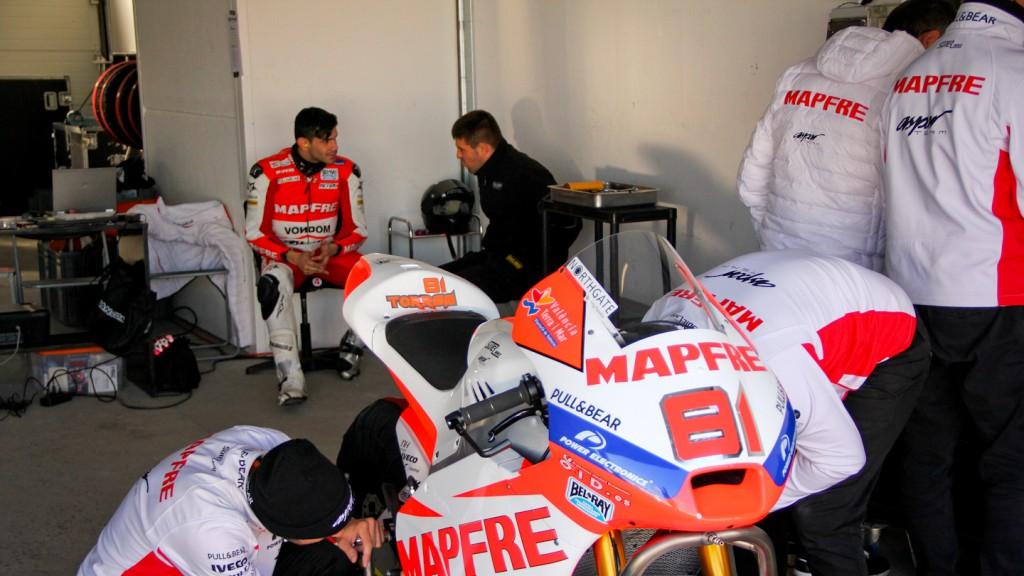 Jordi Torres, Mapfre Aspar Team Moto2, Almería Test