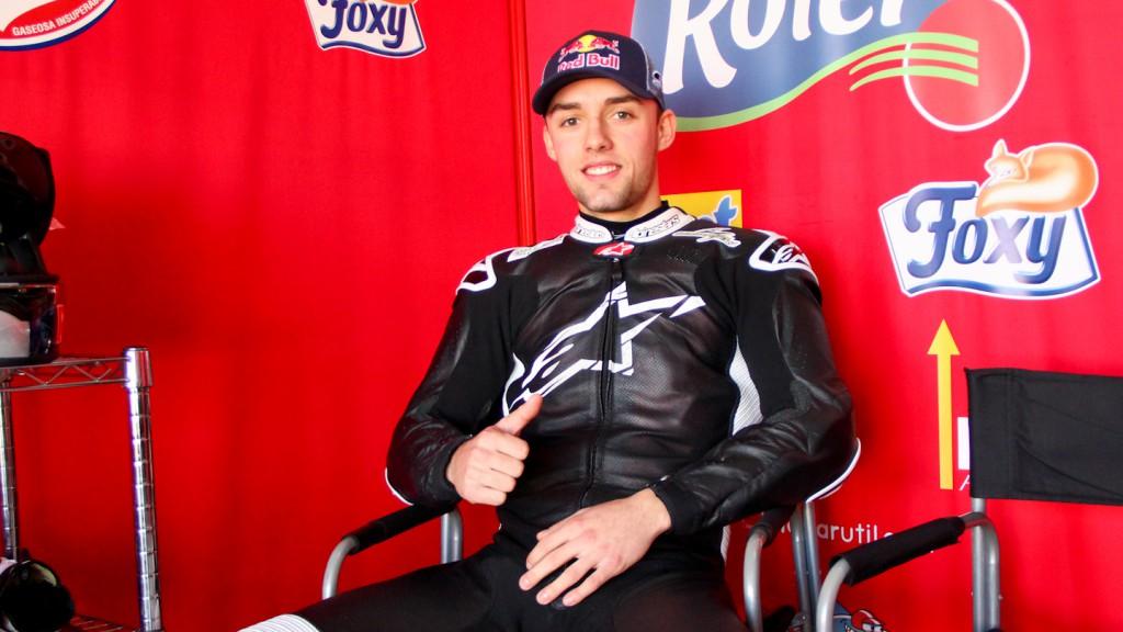 Jonas Folger, Argiñano & Gines Racing, ALmería Test