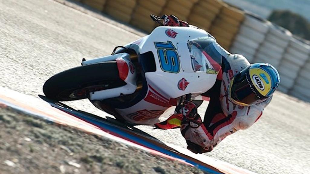 Xavier Simeon, Federal Oil Gresini Moto2, Almería Test