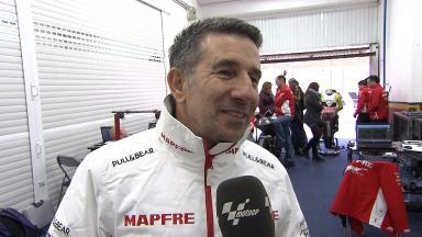 Valencia testing: Interview with Jorge Martinez Aspar