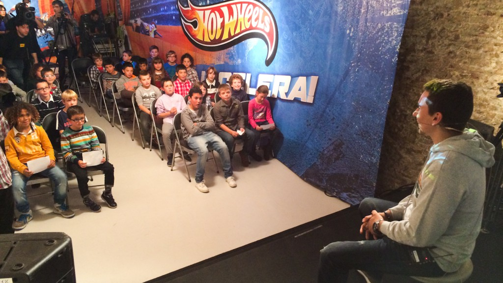 Jorge Lorenzo & Hot Wheels, Barcelona