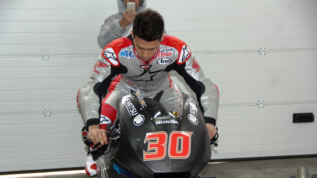 Takaaki Nakagami, IDEMITSU Honda Team Asia, Almeria Test