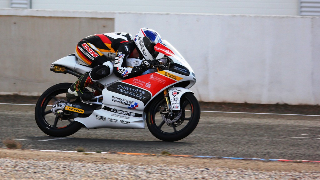 John McPhee, Caretta Technology - RTG, Almeria Test