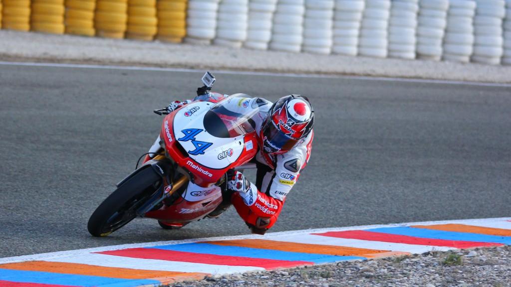 Miguel Oliveira, Mahindra Racing, Almeria Test