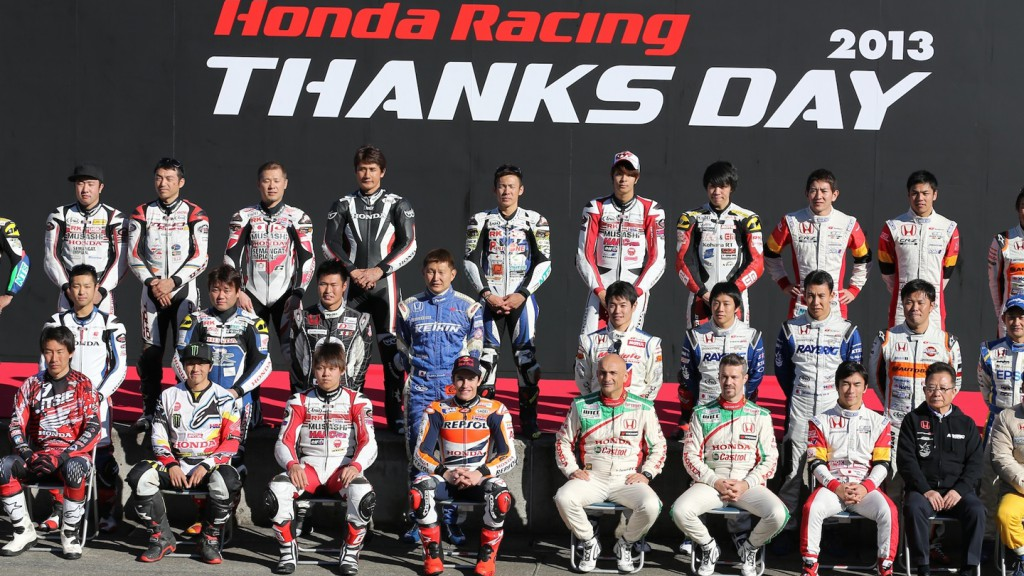 Marc Marquez, Honda Racing Thanks Day - Twin Ring Motegi