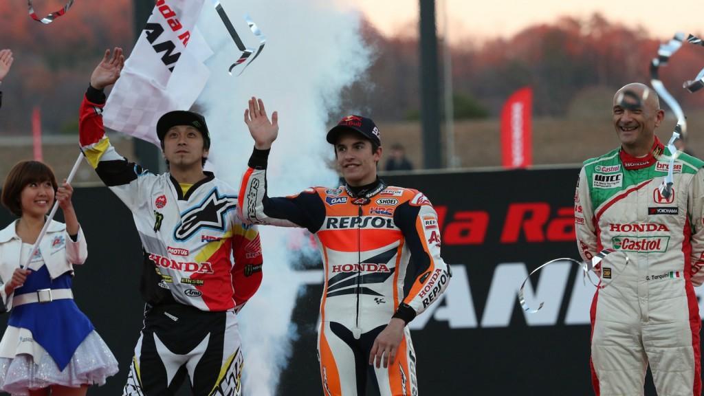 Marc Marquez, Honda Racing Thanks Day - Twin Ring Motegi