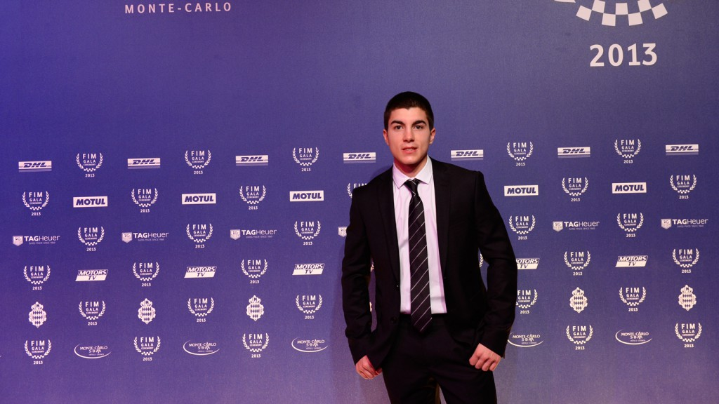 2013 Moto3 World Champion Maverick Viñales, FIM Gala Ceremony