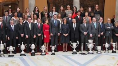 Spanish Sports Council Awards Ceremony © Casa de S.M. el Rey / Borja Fotógrafos