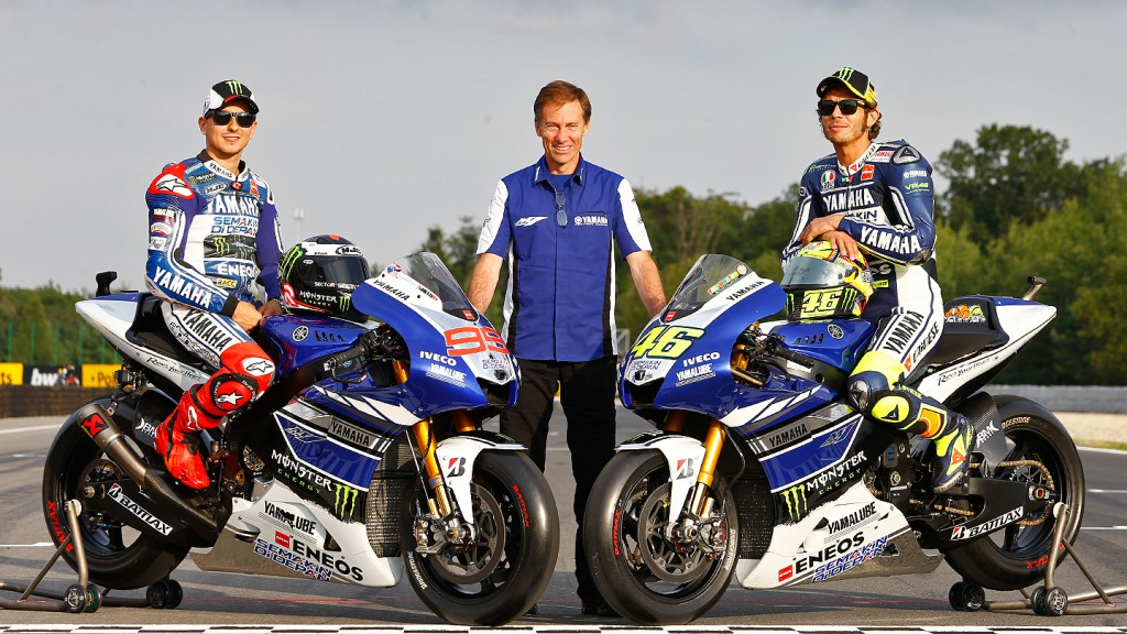 Lorenzo, Jarvis, Rossi, Yamaha Factory Racing