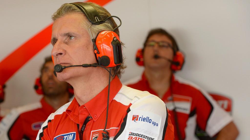 Paolo Ciabatti, Ducati Team