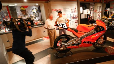 Rookie93MarcMarquez: 'Behind the scenes'