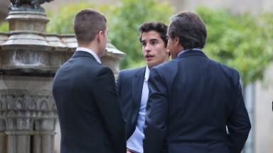 Marc Marquez - Palau de la Generalitat