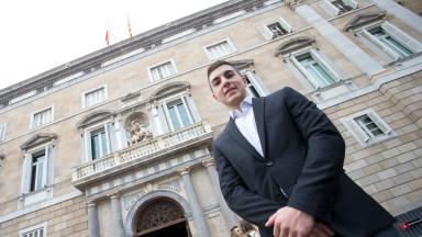 Maverick Viñales - Palau de la Generalitat