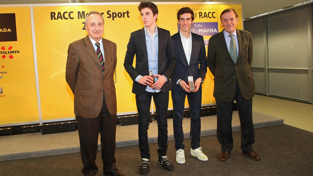 Alex Marquez, Alex Rins - Premios RACC 2013
