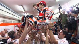 What you missed at… Valencia: History-making Marquez rejoices
