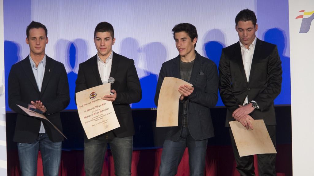 MotoGP Champions. Gala de Campeones 2013 RFME