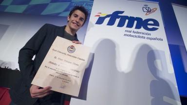 Marc Marquez. Gala de Campeones 2013 RFME