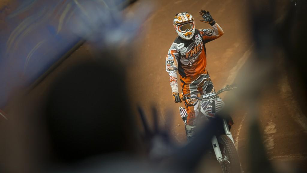 Brad Baker, 2014 Superprestigio Dirt Track