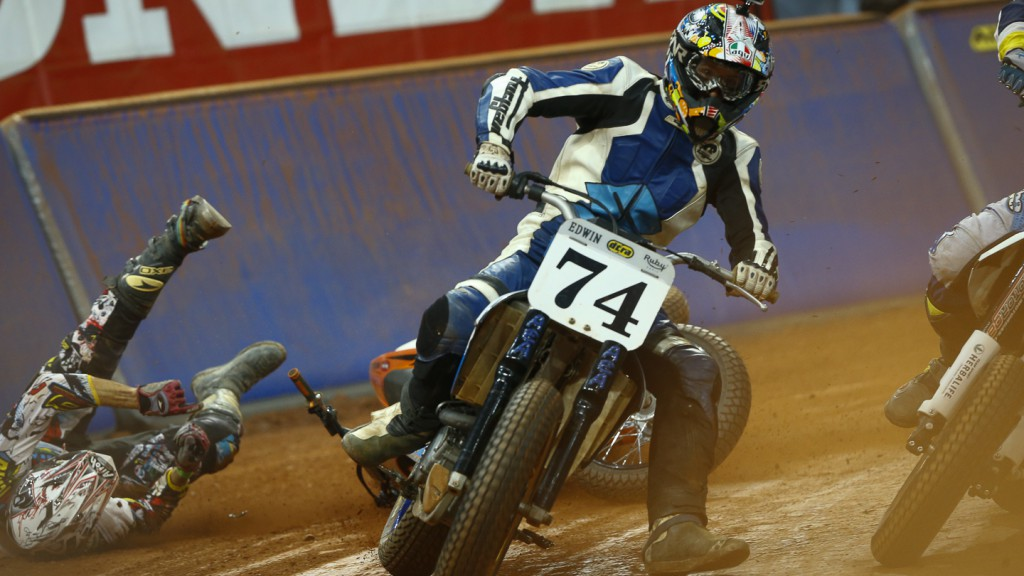 2014 Superprestigio Dirt Track