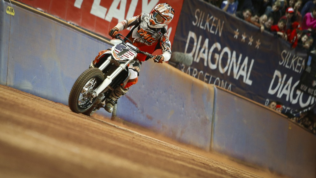 Brad Baker, 2014 Superprestigio Dirt Track