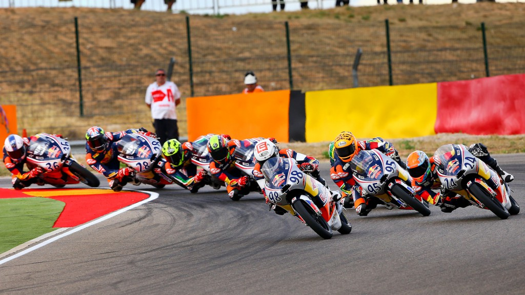 MotoGP Red Bull Rookies Cup Action