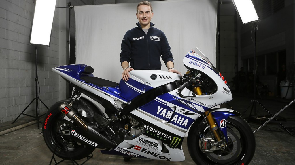 Jorge Lorenzo, Yamaha Factory Racing 2014 Launch