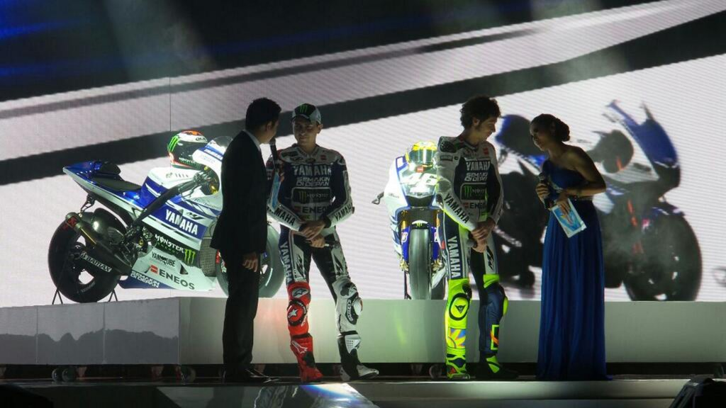 Yamaha Factory Racing 2014 Launch