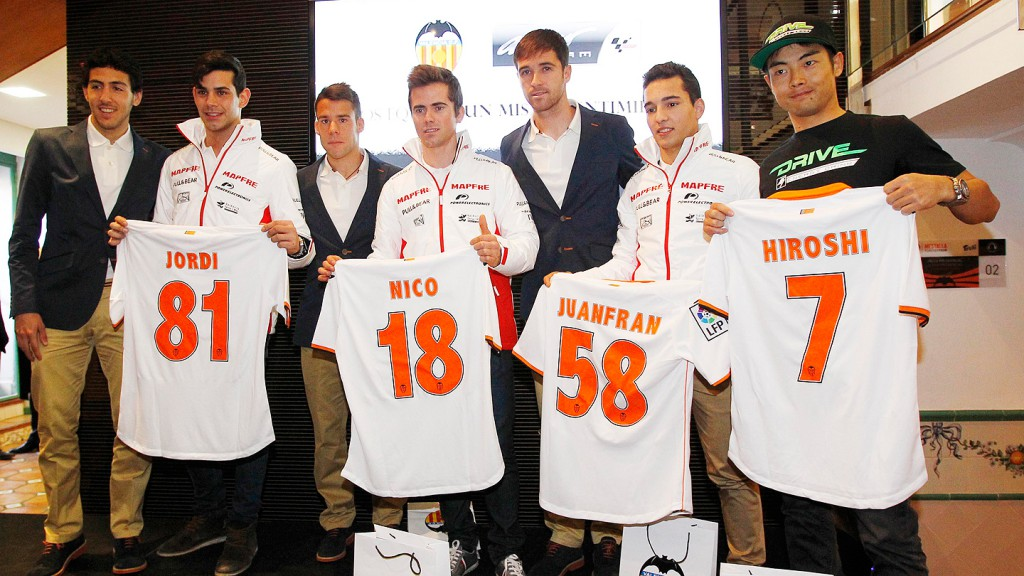 Aspar Team & Valencia CF collaboration agreement