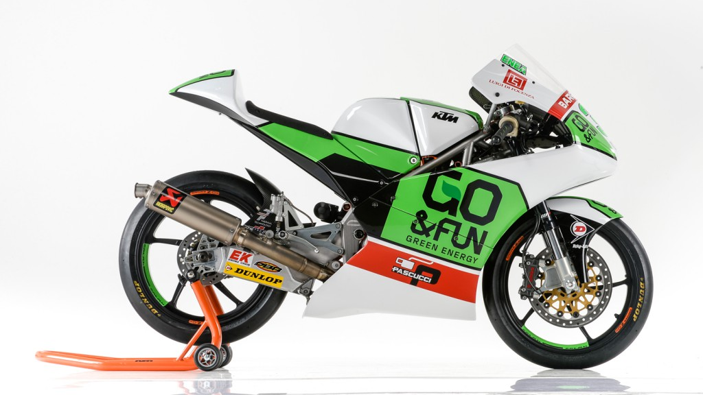 KTM Moto3, Junior Team GO&FUN Moto3, Team presentation