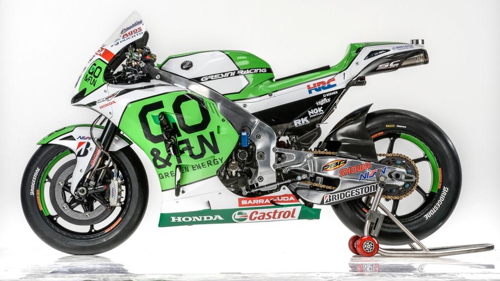 Honda RC213V, GO&FUN Honda Gresini, Team presentation