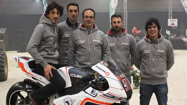 Louis Rossi, Stop and GO Racing Team presentaion
