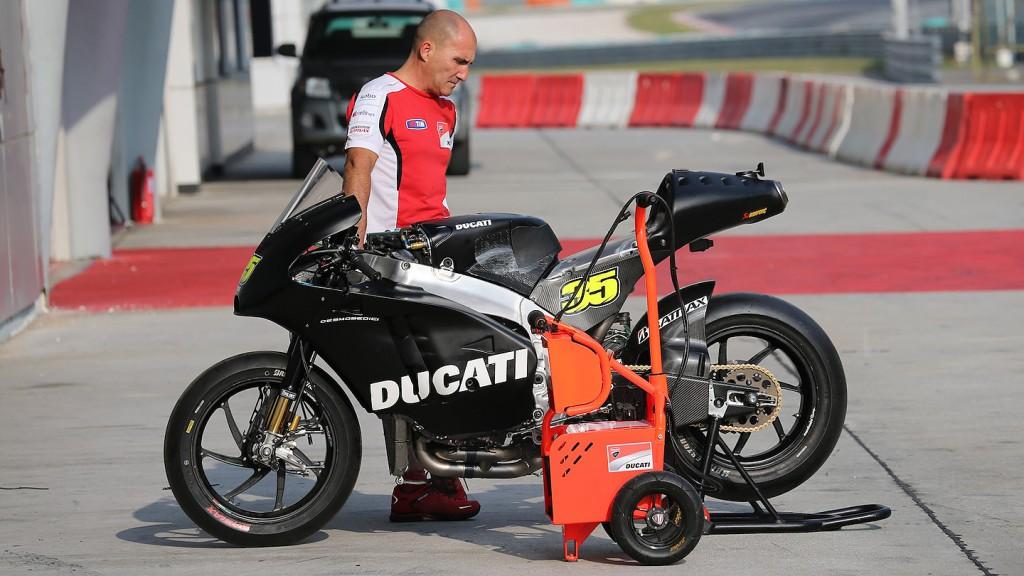 Ducati Team, Sepang Test © Satoshi Endo