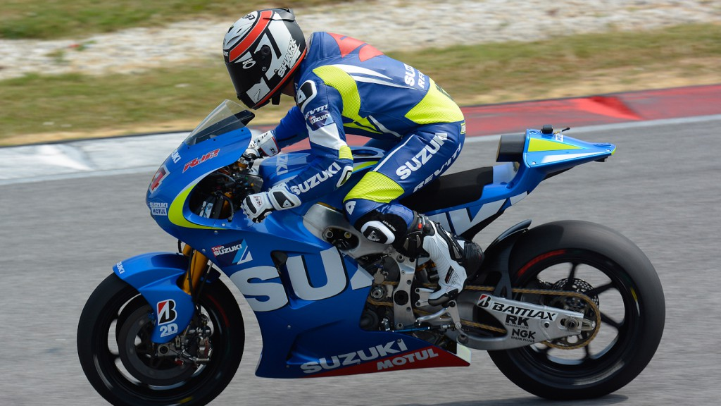 Randy de Puniet, Suzuki Test Team - Sepang Official MotoGP Test 1 © Milagro